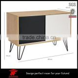 Modern Room Furniture Wooden Coffee Table With Hairpin Legs