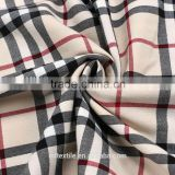 2015 autumn and winter yarn dyed brushed flannel plaid shirt fabric