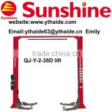 2 post auto hoist,CE certificated (QJ-Y-2-35D)