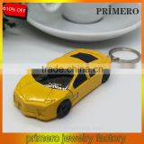 Lamborghini Car Windproof Lighter With Flashing Light Lamp and Key Chain Ring