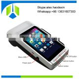 New Arrival handheld Android pos terminal with thermal printer mobile NFC smart pos terminal GC068