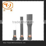 High temperature refractory Aluminum carbon long nozzle