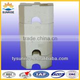 refractory materials manufacturers fused cast azs block for glass furnace, AZS--33,36,41