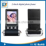 Promotion gift factory directly sale 1.5inch/2.4inch HD picture video music play digital photo frame