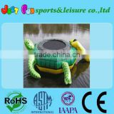 Outdoor turtle water trampoline at low price/thrilling water games