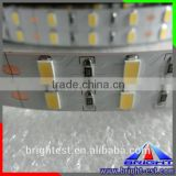 Self-adhesive Amber/Yellow color SMD led strips, 55lm/led Green,Yellow color warranty 3 years 5630 led strip lamp