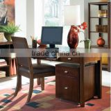 classical simple Home Office Set with Chair in Root Beer Color/home office furniture