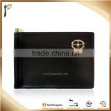 Popwide 2015 Good Quality Real Business PU Leather Card Holder