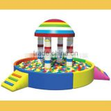 2016 hard plastic pools for kids/baby swimming indoor pool/popular kids indoor ball pool