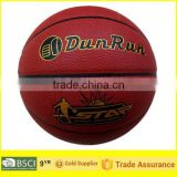 DunRun Soft PU Basketball, Laminated Basketball, Competition Basketball, High quality Basketball