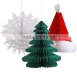 Cheap Tissue Honeycomb Christmas Paper Decorations