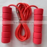 hot selling jump skipping rope with foam