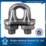 stainless steel duplex wire rope clip good China manufacturer&supplier&exporter,ningbo weifeng fastener,top quality