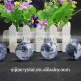 wholesale price factory directly sale purple color Crystal Hanging Faceted Ball chandelier wedding decoration gift