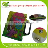 Spiral binding PVC cover notebook with handle for Children Children notebook