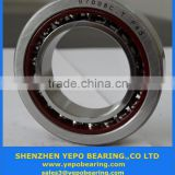Factory price double row angular contact ball bearing 7017AC used for machine tool spindles