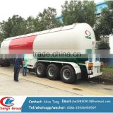 3 axles lpg tank trailer used truck lpg tanker semi trailer 40cbm