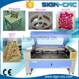 China supplier SIGN 1490 foam sheet laser cutting machine/2mm mdf laser cutting machine/laser engraving machine for glass stone