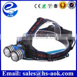 3 Mode 1600 Lumens CREE XML T6 LED Headlamp Head Torch Flashlight