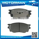 MOTORMAN Welcome OEM excellent performance good friction auto brake pad FDB1707 for MAZDA 6