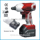 2014 hot selling 14.4V adjustable Li-ion Battery impact square wrench transction