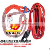 safety belt , Hot sale work high above the cotton nylon belt, scaffolder with nylon belt oem huatai
