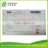 (PHOTO)FREE SAMPLE, 241x140mm,6-ply,barcode,express bill,air waybill,consignment note