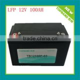 LiFePO4/lithium ion battery/batteries 12v 100ah with 2000 cycles for energy storage/solar system/LED lighting