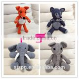 crochet cute plush baby toys, wholesales of crochet knitted baby toys