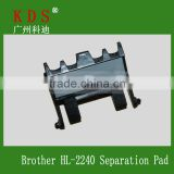 Printer Separation Pad for Brother HL2240/2245/2270 Separation Pad Printer Spare Parts Compatible for Lenovo LJ2400/2600/2650