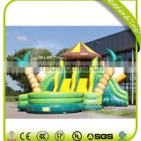 NEVERLAND TOYS Inflatable Water Slide Jungle Inflatable Slide with Pool Giant Inflatable Slide Hot Sale