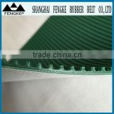 High Quality Grass Pattern Rough Surface Green PVC Skid Conveyor Belts For Packing Machine
