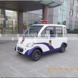 Chinese whole sealing smart 4 passengers electric car 48V4.2KW dc motor for police for sale