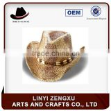 10 years experience lifeguard cowboy sombrero straw man hat