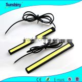 New model led drl 6W cob 36chips daylight running light 14cm led strips
