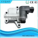 16022-RAA High quality wholesale price auto denso solenoid spool air idle control valve for Japanese car