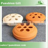 Terracotta mosquito coil holder