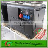 6Kva generators diesel with electric generator power from GBR company support generator parts for silent diesel generator