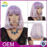 High light purple 200 density glueless beyonce lace wig