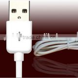 Wholesale high efficiency universal mobile phone data cable V8 Micro type-c charging cable USB cable