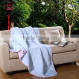 Factory price textile wholesale 100% polyester fabric quilt mircofiber filled cashmere quilt comforter blanket cover set