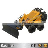 multifunction mini skid steer dozer blade/WHEEL LOADER mini skid steer loader with dozer blade/skid steer loader with dozer blad