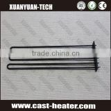 Industrial electric heating element for tanks