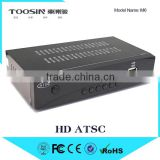 good quality lowest Price HD ATSC Digital Video Broadcasting Terrestrial Receiver dvb-t atsc H.264 TV Set Top Box