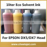 Professional Eco Solvent Printing Ink for Xenons Galaxy Zhongye Thunderjet Fortune Inkjet Printer