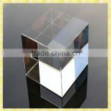 Best Seller Blank Glass Mirror Cube For Desktop Centerpieces