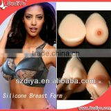 Crossdressing realistic making silicon fake breast for man