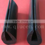 Seal Strip For Auto Window Door / Flame Retardant Viton Strip Seal / U-shaped Edge Trim Protective Seal