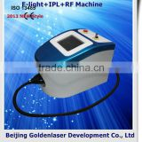 2013 New design E-light+IPL+RF machine tattooing Beauty machine cosmetology uniforms cotton work shirts