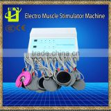 Electro Muscle stimulator & EMS fitness for slimming russian wave current electric muscle